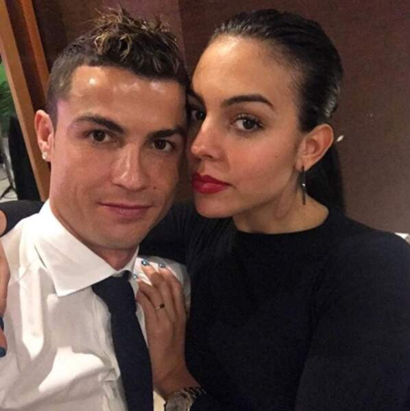 La star portugaise était bien évidemment avec sa chérie Georgina Rodriguez