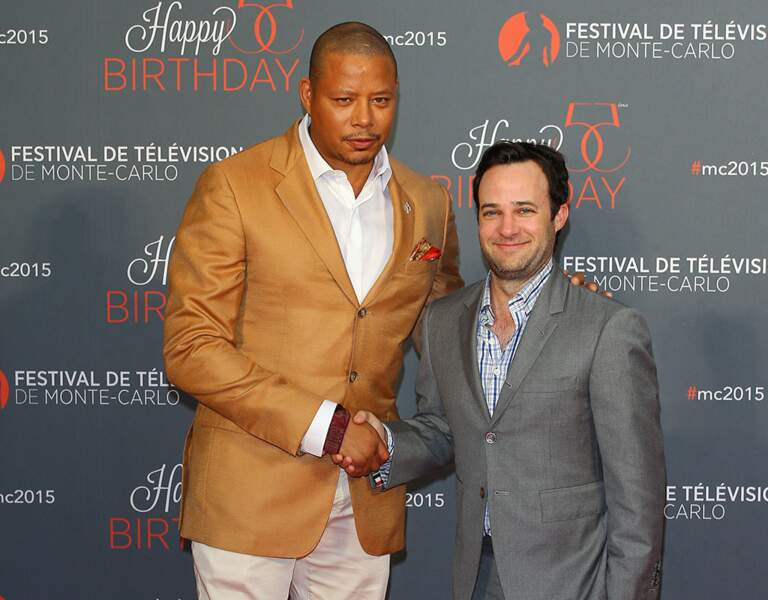 Terrence Howard (Empire) et Danny Strong, producteur exécutif de la série