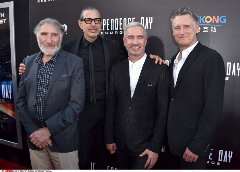 Dimanche soir, à Los Angeles, l'équipe du film Independence Day Resurgence est venue présenter le film