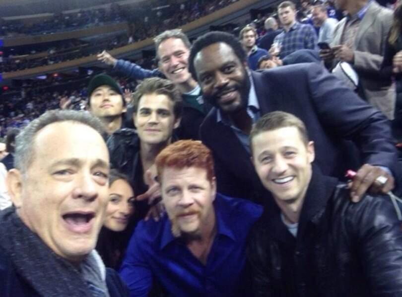 Le selfie qui déchire : The Walking Dead + Vampire Diaries + Gotham + Tom Hanks