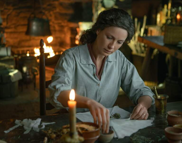Elle aussi a beaucoup changé de look dans les différentes saisons d'Outlander