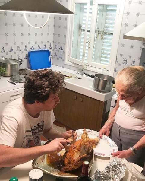 Suivis de près par Jean Imbert et la sienne en cuisine.