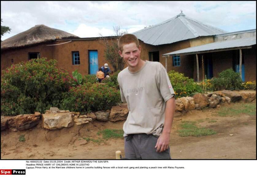 Visite  de l'orphelinat Mant'ase Children Home au Lesotho.