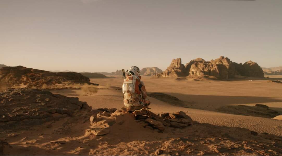 Seul sur Mars : Matt Damon a été oublié sur la planète rouge. S.O.S., merci !