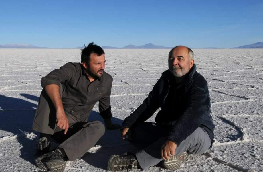 Ici, en Bolivie avec Gérard Jugnot
