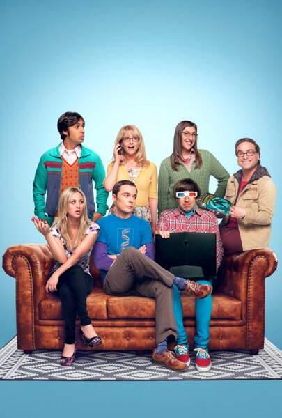 """Autre série se terminant en 2019, non pas sur un trône mais sur un canapé: """"The Big Bang Theory"""" (saison 12)."""