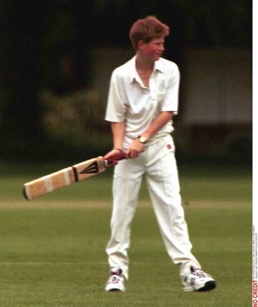 Le cricket, l'autre sport favori du Prince après le Polo et le Rugby à XV