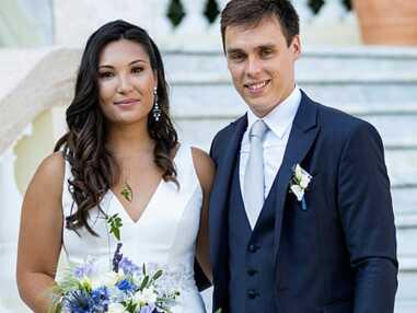 Le bonheur au mariage de Louis Ducruet et Marie Chevallier