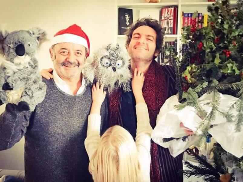 Louis Cheddid fait un beau père Noël, vous ne trouvez pas ?