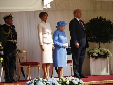 Rencontre au sommet entre la reine Elizabeth II et Melania et Donald Trump