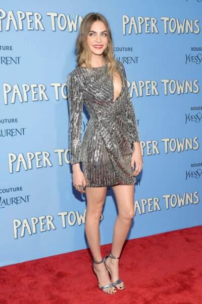 Et visiblement, elle est très contente d'avoir joué dans ce film ! Sur les tapis rouges, elle rayonne !