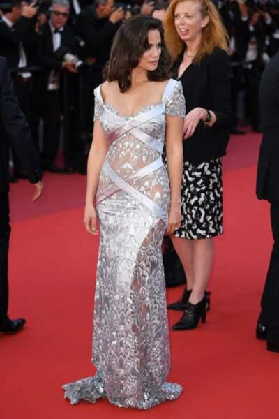 Lucie Lucas au Festival de Cannes