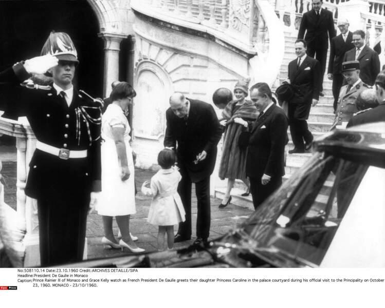 Papa, il est gentil ce grand Monsieur de Gaulle… d'être venu au Palais en 1960