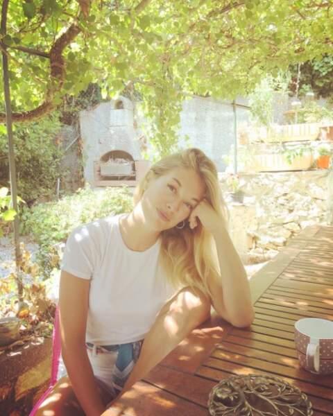 Son compte Instagram l'atteste : elle profite pleinement de la vie !