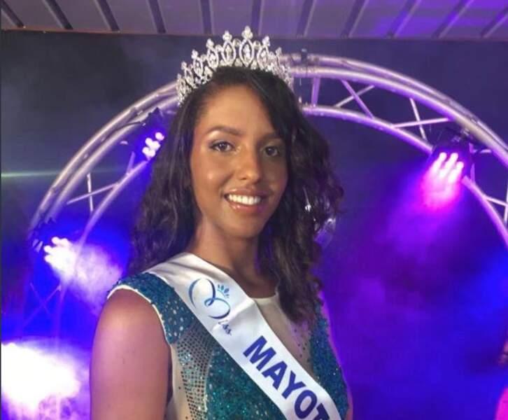 Eva Labourdere a été couronnée Miss Mayotte