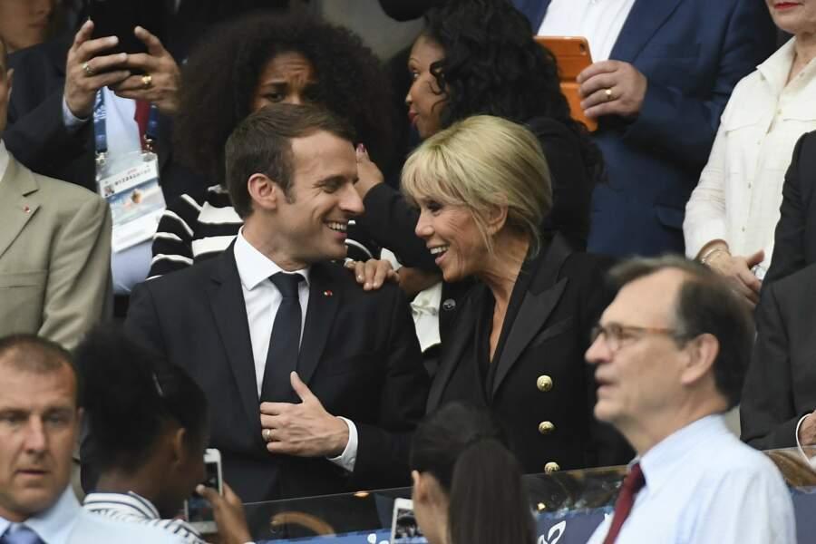 Le couple présidentiel s'est plutôt bien amusé