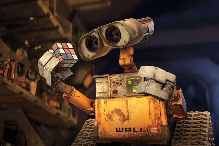 """Encore un robot qui n'est pas doté de la parole. Il ne prononce que son nom : """"Wall-E""""."""