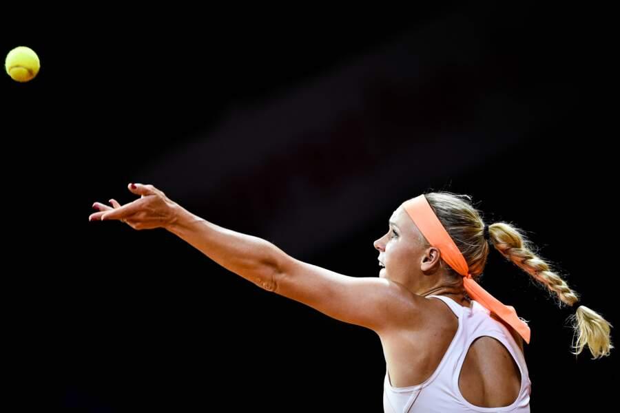 Caroline Wozniacki tient bien son jeu
