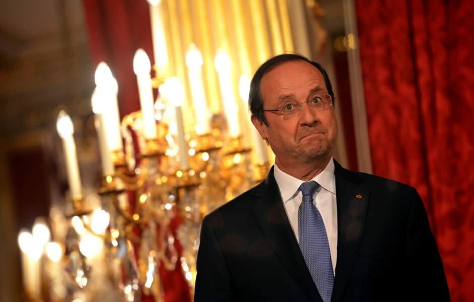 Juin 2014 : au prix de l'audace artistique et culturelle, François Hollande n'est pas convaincu !