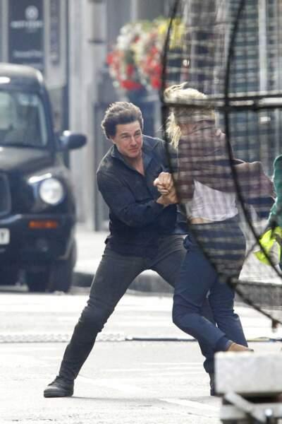 Tom Cruise est à Londres pour tourner The Mummy