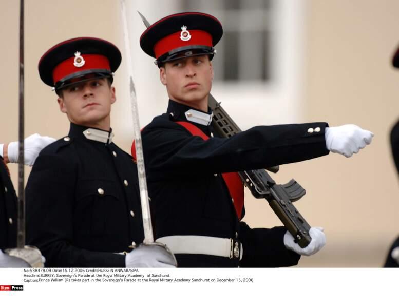 Le prince William y défilera