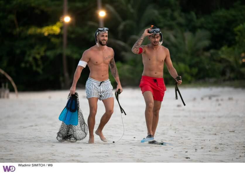 Illan et Greg reviennent sur le campement