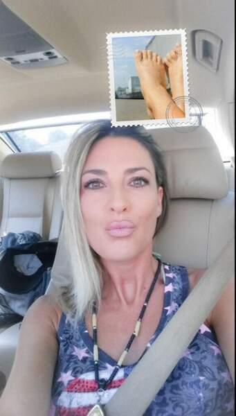 Merci pour le selfie dans la voiture Eve Angeli !