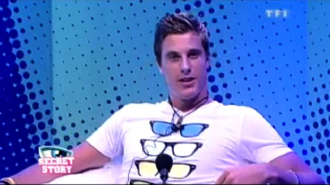 Kevin Boyer (Saison 3) donne des cours de tennis