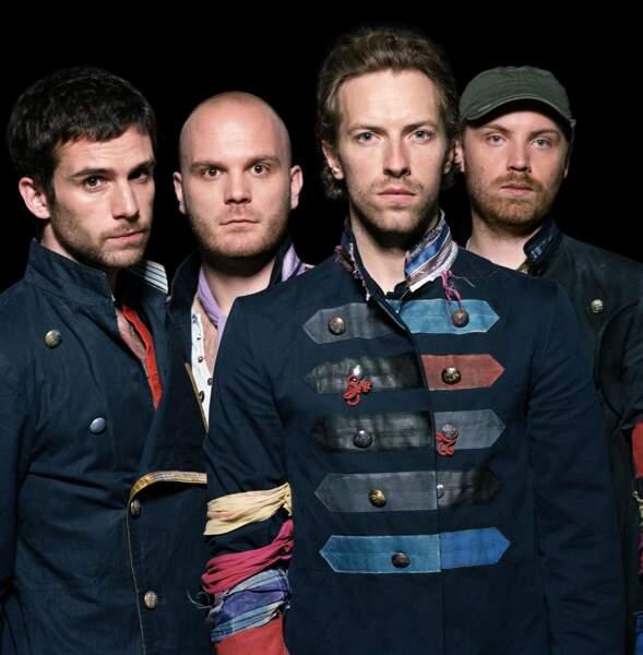 38. Coldplay (chanteurs)