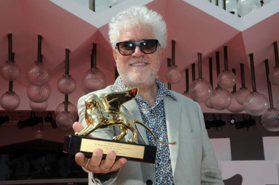Pedro Almodovar, présent pour recevoir un prix d'honneur