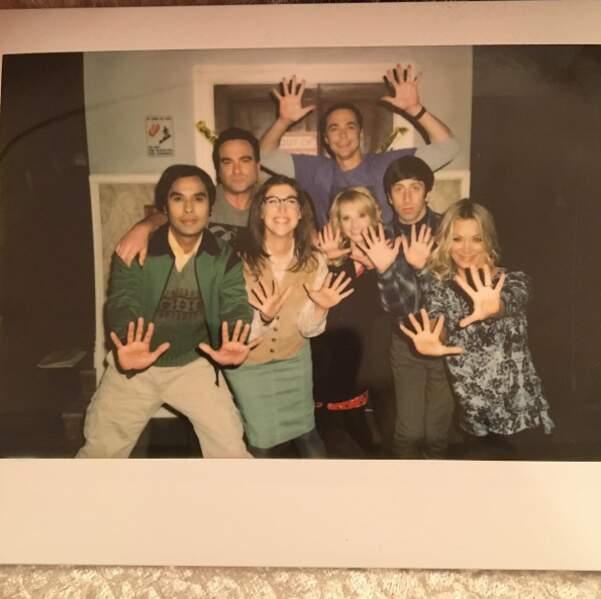 Ça bosse dur sur le tournage de The Big Bang Theory !