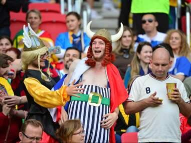 France-Honduras : la joie de Benzema, des supporters un peu ridicules....