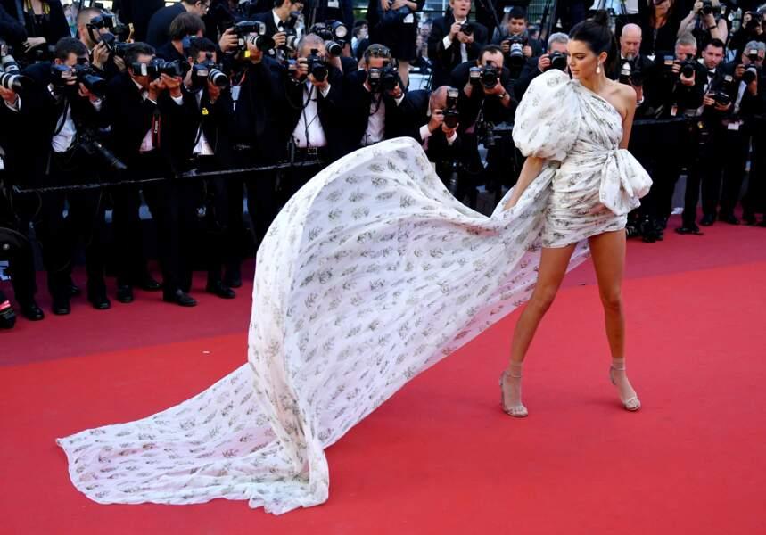 Kendall Jenner au Festival de Cannes