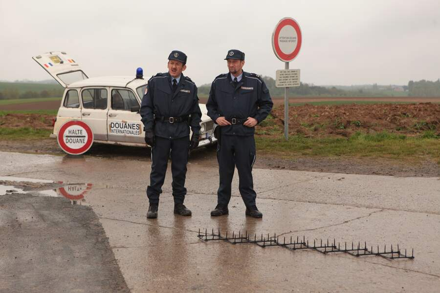 ...il fait un temps médiocre à la frontière franco-belge