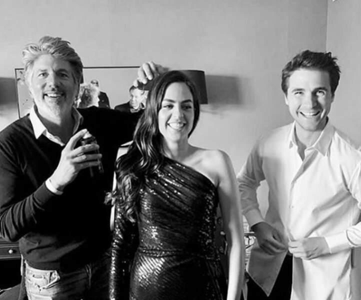Elle l'a notamment accompagné au Festival de Cannes 2019