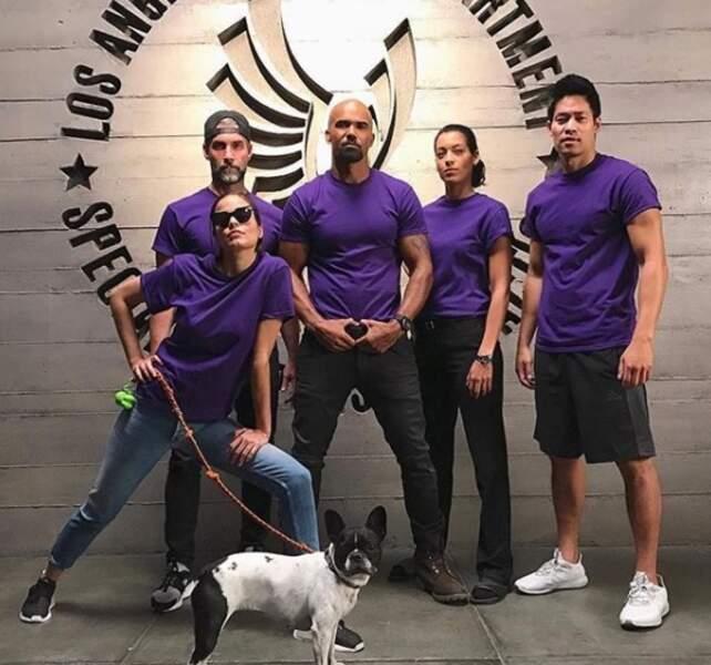 L'équipe de SWAT, la nouvelle série de Shemar Moore, affiche haut ses couleurs