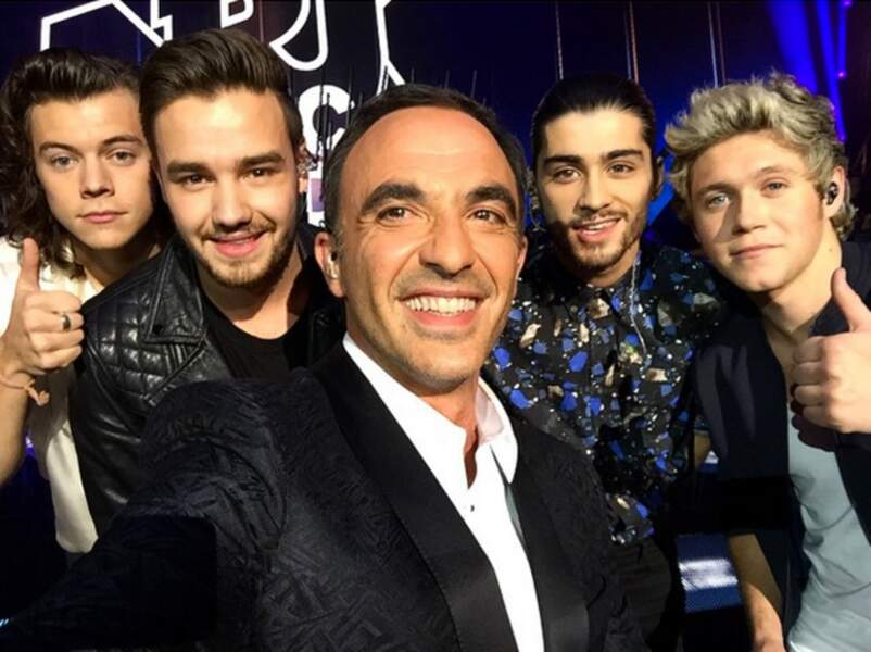 Là avec les One Direction...