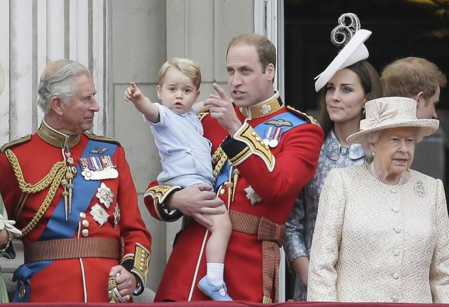 Juin 2015, la star de Trooping the Colour ? C'est baby George !