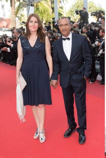 Encore un couple frenchy : Pascal Legitimus et son épouse