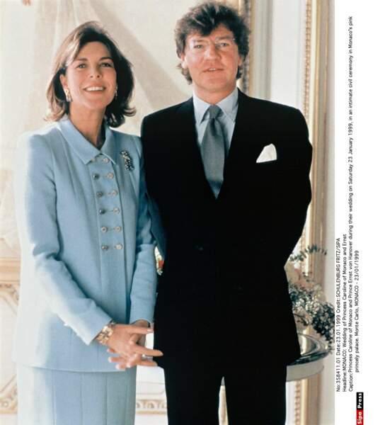 Le jour de son 42è anniversaire  en 1999, elle épouse Ernst-August de Hanovre avec qui elle a une fille