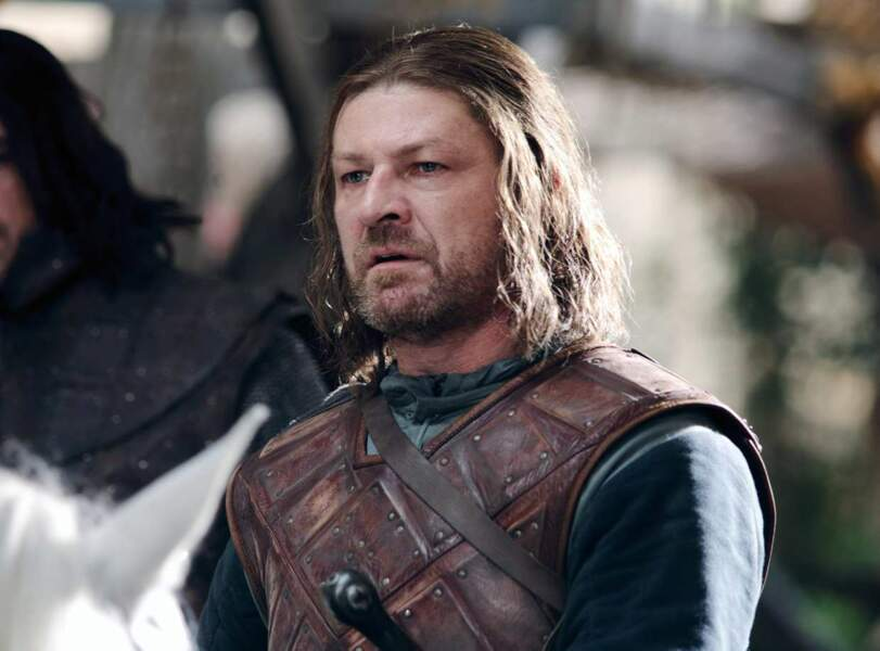 Ned Stark (Sean Bean) : Le roi (du Nord) est mort. (Saison 1, épisode 9)