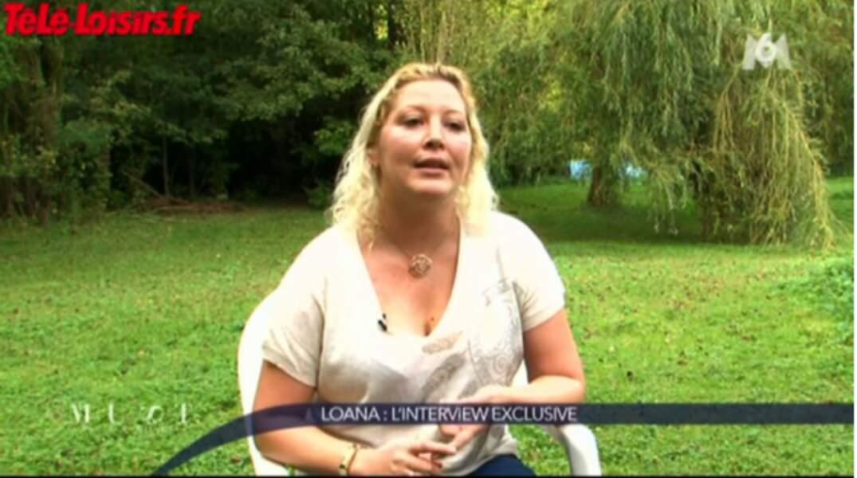 Loana, en octobre 2013, criait son bonheur retrouvé aux caméras de M6