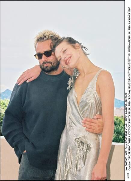 Troisième muse de Luc Besson : Milla Jovovich, son actrice principale sur Le 5ème élément. Ils se séparent en 1999