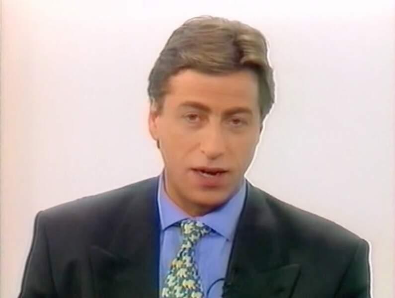 Serge Molitor, présentateur emblématique du journal de la chaîne, et du M6 Express, de 1988 à 1997