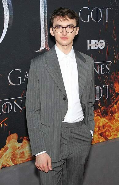Isaac Hempstead (Bran Stark), toujours très classe !