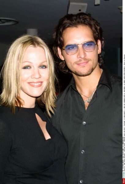 En 1996, elle est en couple avec l'acteur Peter Facinelli