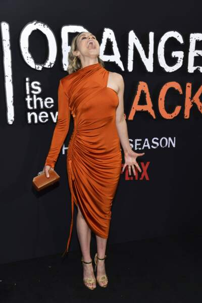 Orange Is the New Black saison 7, c'est parti ! Et Taylor Schilling exulte sur le tapis rouge !