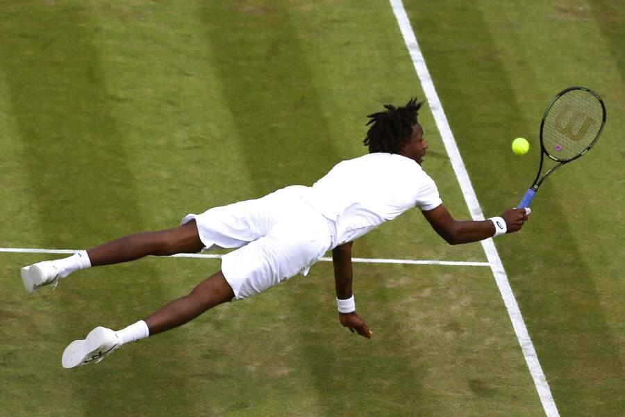 En fait, Wimbledon, c'est un tournoi de voltige