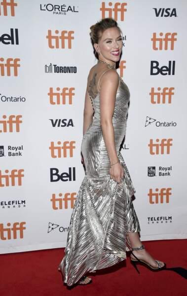 Scarlett Johansson, divine !