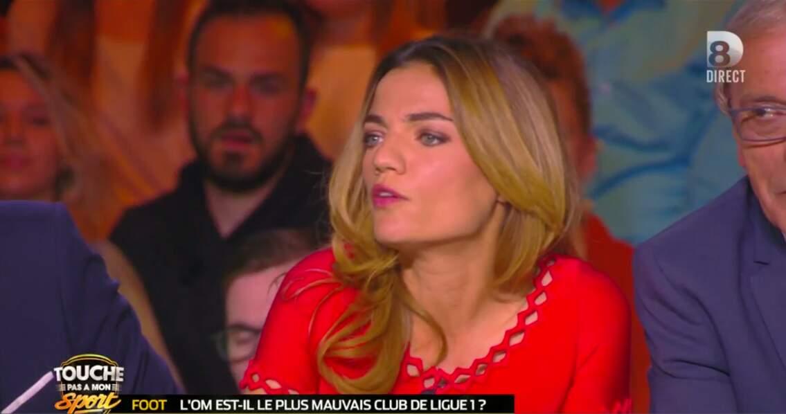 Francesca Antoniotti divine en rouge
